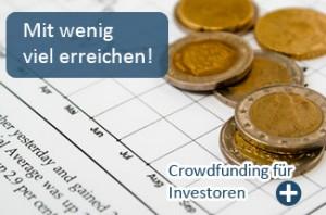 Crowdinvesting für Anleger